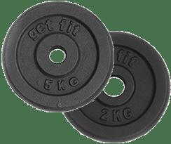 peso discos 7 kilogramos