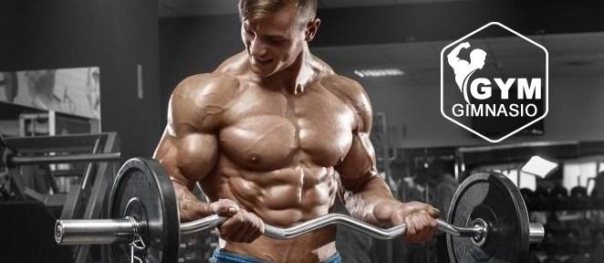 ejercicio gimnasio curl de biceps con barra z