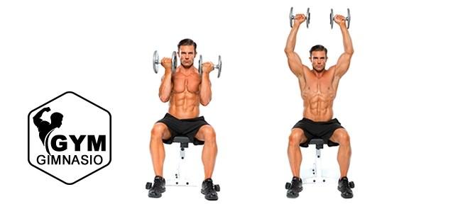 ejercicio gimnasio press arnold