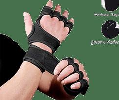 guantes de gimnasio