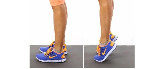 ejercicio gimnasio isométrico de elevación de talones