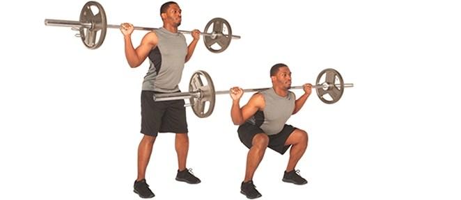 ejercicio gimnasiosentadillas
