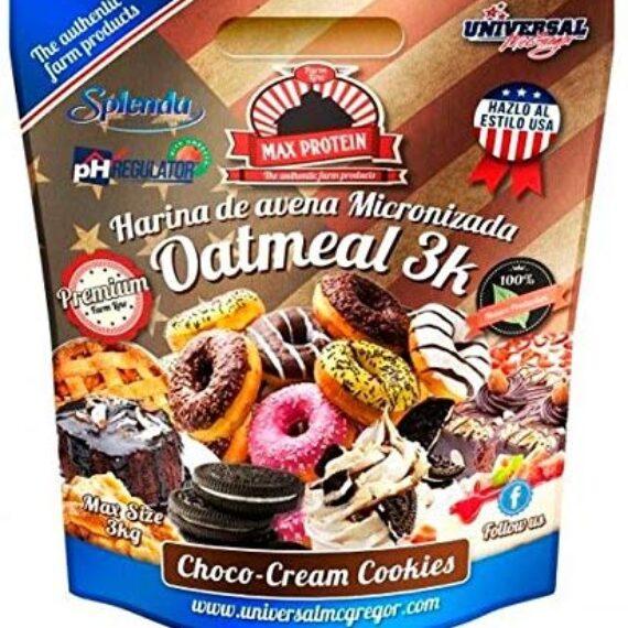 harina de avena sabor choco cream cookies