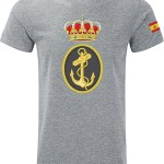 camiseta militar de la armanda