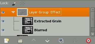 Layer groups screenshot