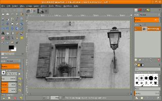 Single-window mode screenshot