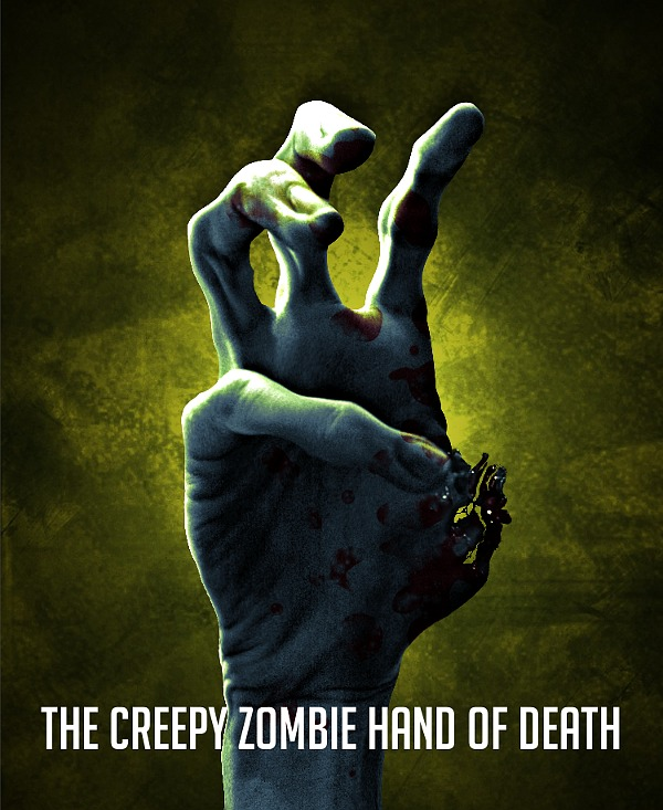 The creepy zombie hand of death!