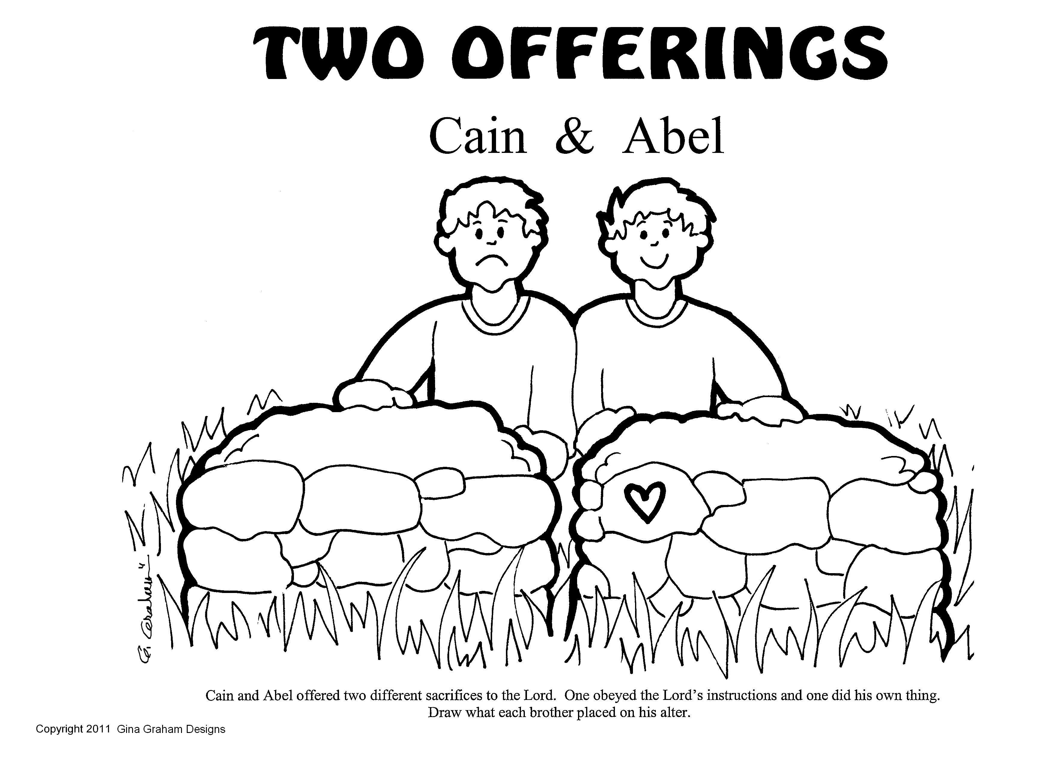Images About Cain And Abel Bible Crafts And Activities For Kids