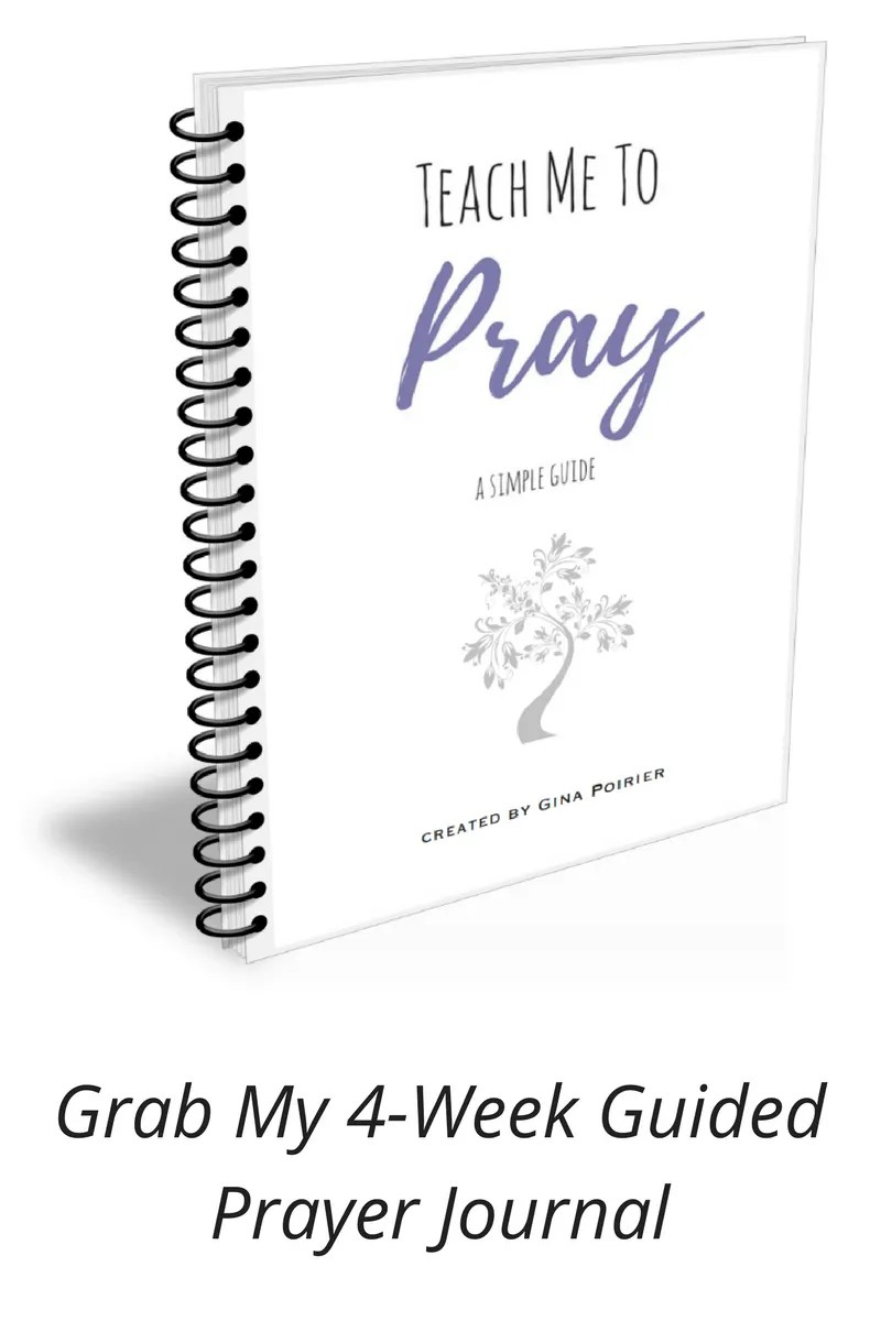 4-Week Guided Prayer Journal promo