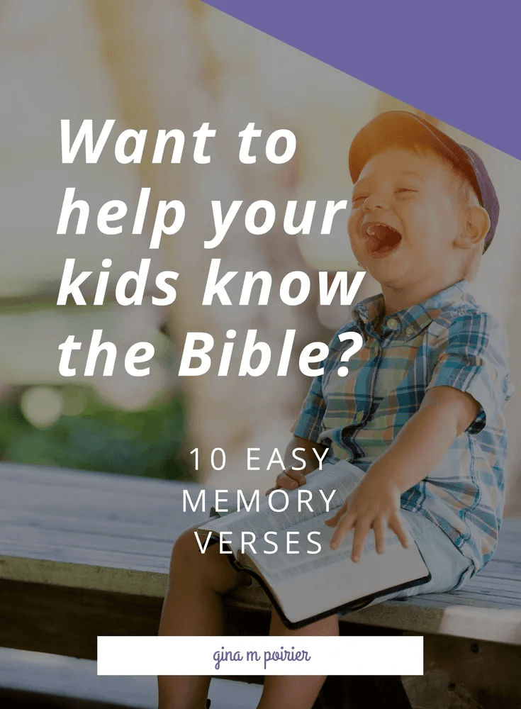 Memory Verses for Kids | Free Printable Scriptures | Bible Learning Ideas
