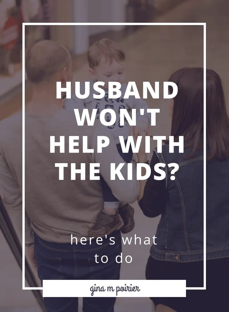 Are you losing your mind because your husband won't help with the kids, whether it's the baby at night or just helping with the parenting? There are a few communication tools that can help.