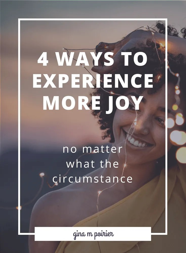 Feel like you should be more joyful, but the circumstances make you feel anything but? Joy is a part of the Christian experience, but perhaps not in the way you think. Here's what you need to know about growing in joy.
