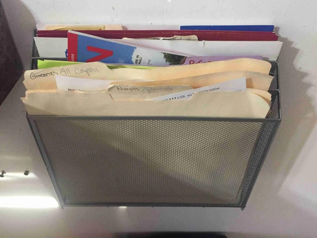 Konmari Paper filing