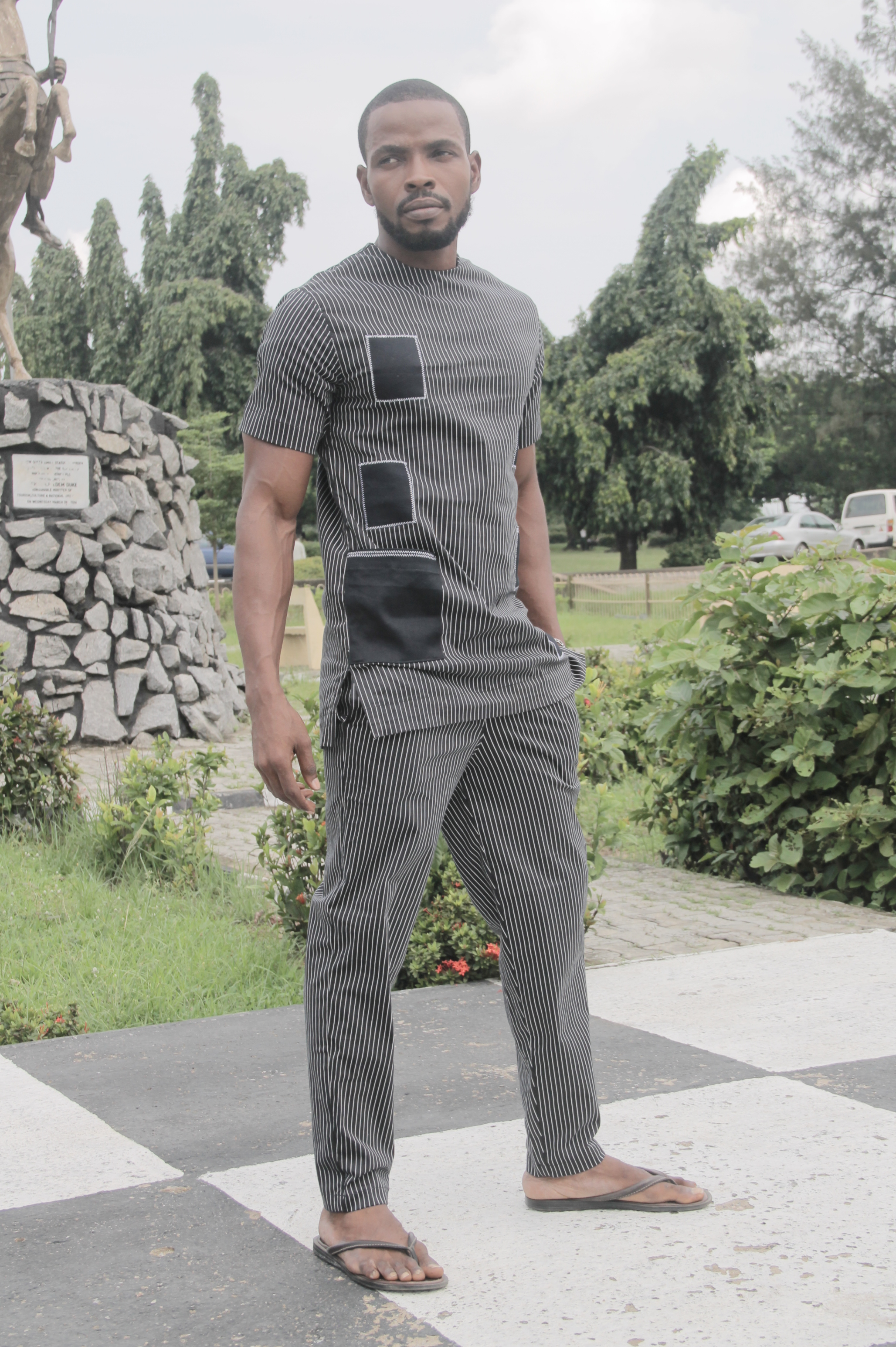 Tunic set by Miguel Eze