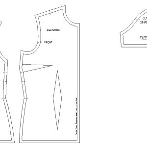 Basic Bodice Block for Women's wear