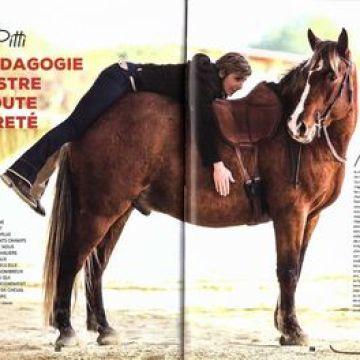 «Gina Pitti : La pédagogie équestre en toute légèreté» – Magazine Cavalière N°68