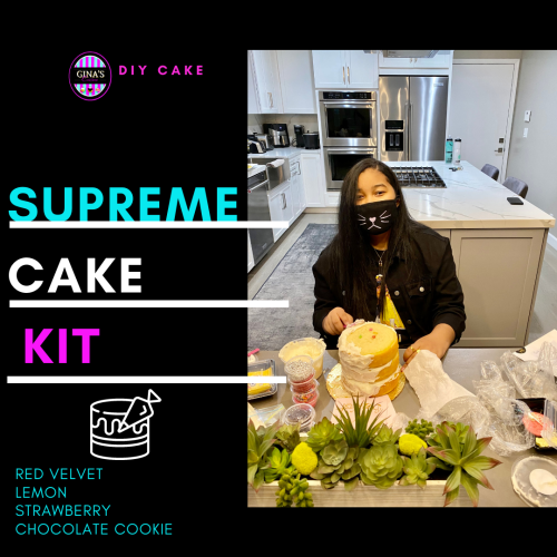 Supreme DIY Experience Cake Kit – Shippable