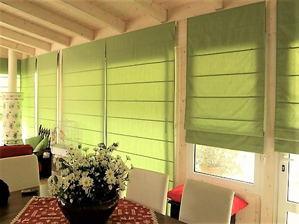 Acquista online tende e tendaggi su misura : Tenda A Pacchetto Steccato Moderno Tessuto Coprente Gina Tendaggi