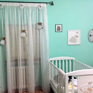 Vedi la nostra tendaggi camera bambino selezione dei migliori articoli speciali. Tende Personalizzate A Per Cameretta Bimbi Gina Tendaggi