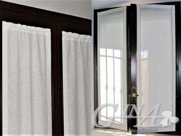 Tenda trasparente finestra, tenda trasparente a vetro, tenda trasparente a vetro a punta. Tenda Disegni Geometrici Moderni Per Cameretta Ragazzi Gina Tendaggi