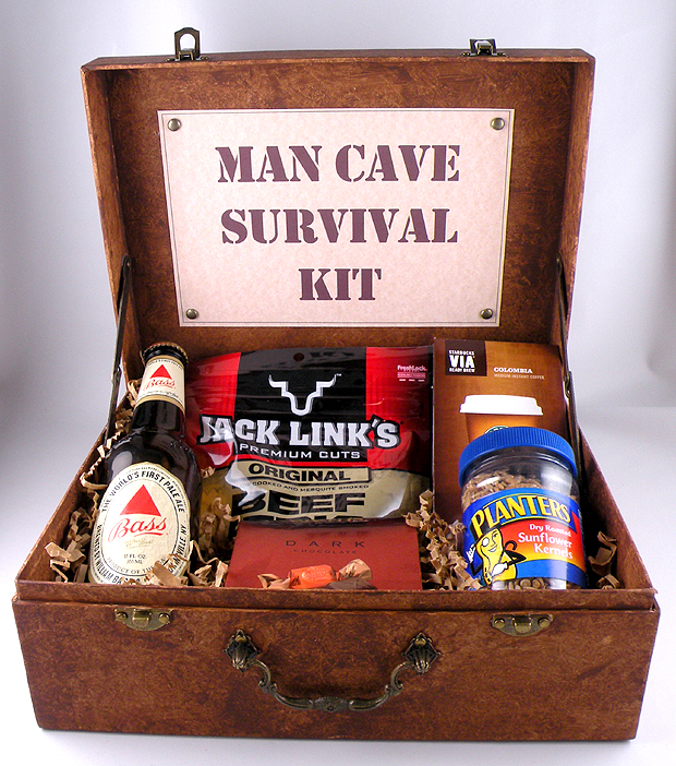 Man Cave Gift Ideas Canada : Man cave survival kit