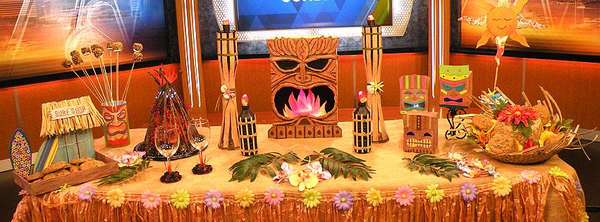 Luau Centerpiece Decorations