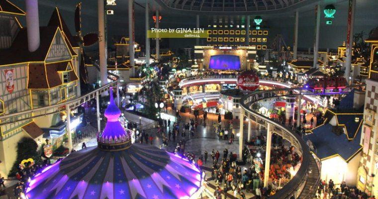 韓國首爾樂園》二遊首爾蠶室 樂天世界(롯데월드 / LOTTE WORLD)之聖誕特輯 室內室外都好玩,搭首爾地鐵就可以到!