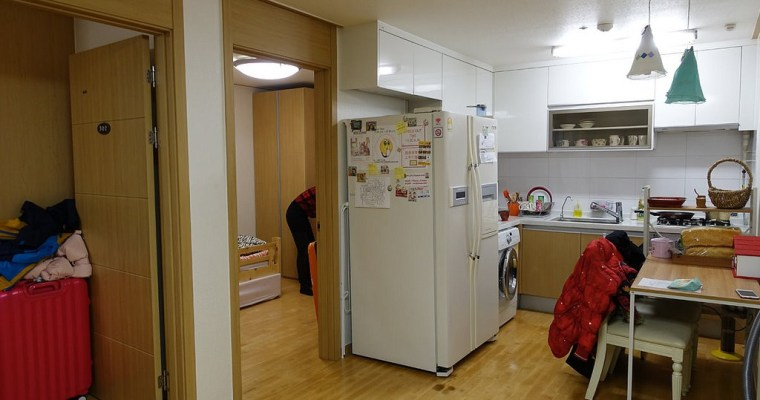 首爾住宿》OKHouse (原為Room in Korea )麻浦區廳站 家庭式住宿 適合學生旅遊省錢住宿(可中文訂房)