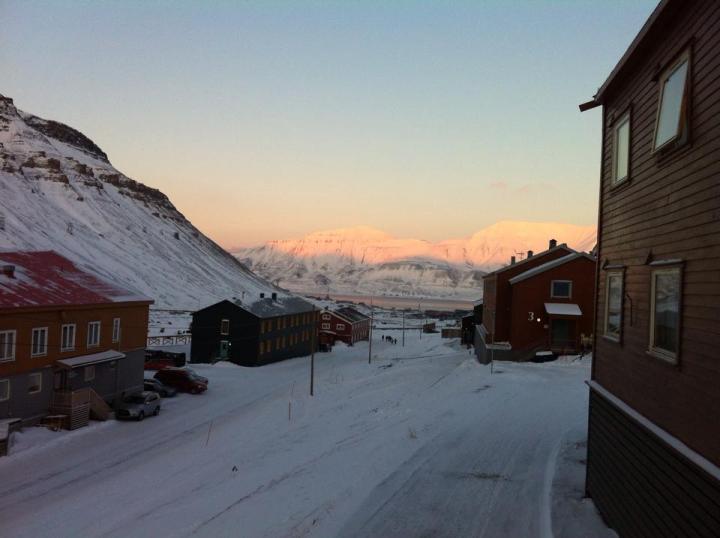 Longyearbyen Spitzbergen © Ines Erlacher und Thomas Mussbacher