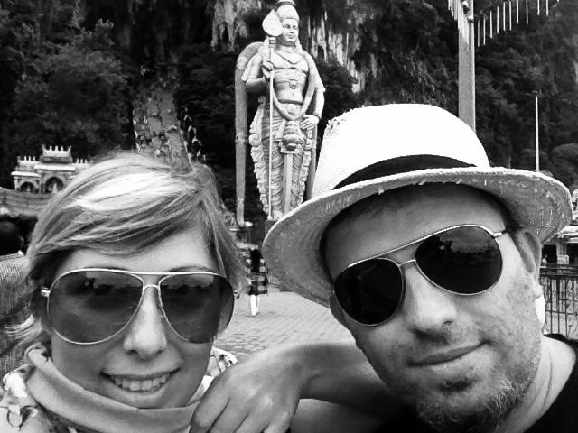 Thomas und Ines Kuala Lumpur