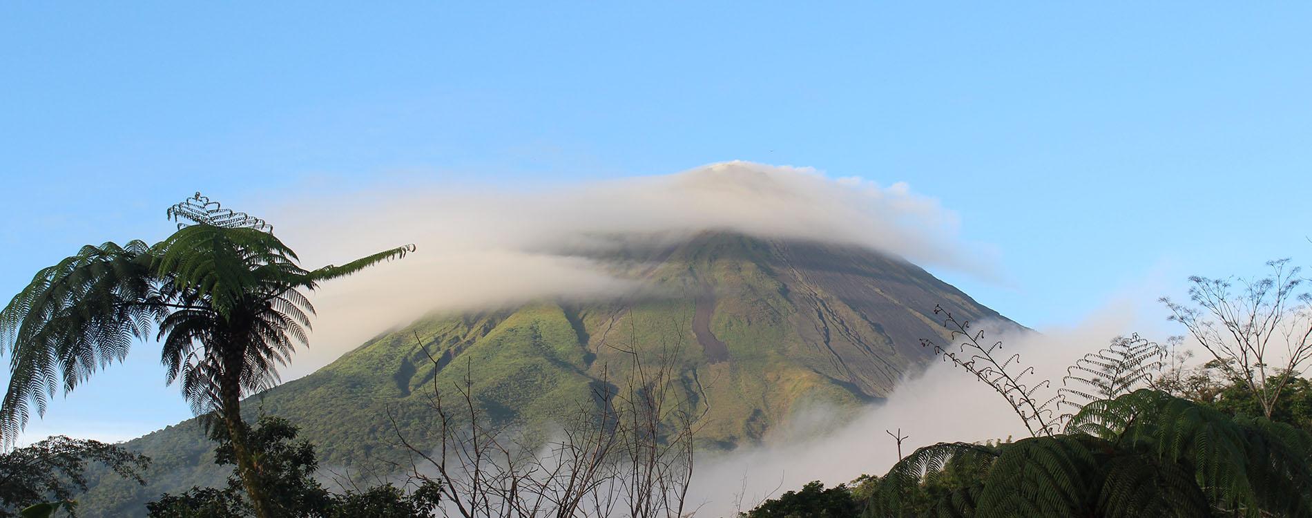 Blick auf den Vulkan Arenal www.gindeslebens.com
