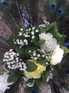 Brautstrauß Hochzeit am Strand Dominikanische Republic Iberostar Hacienda Dominicus Heiratsantrag und Hochzeit im Ausland www.gindeslebens.com