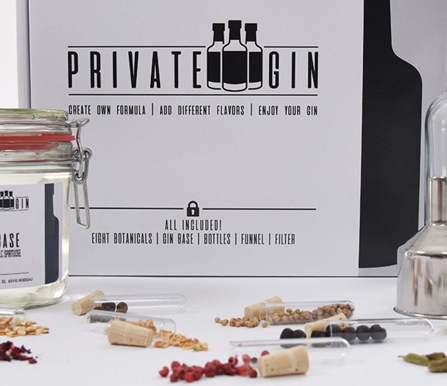Private Gin - Gin Baukasten ©Private Gin