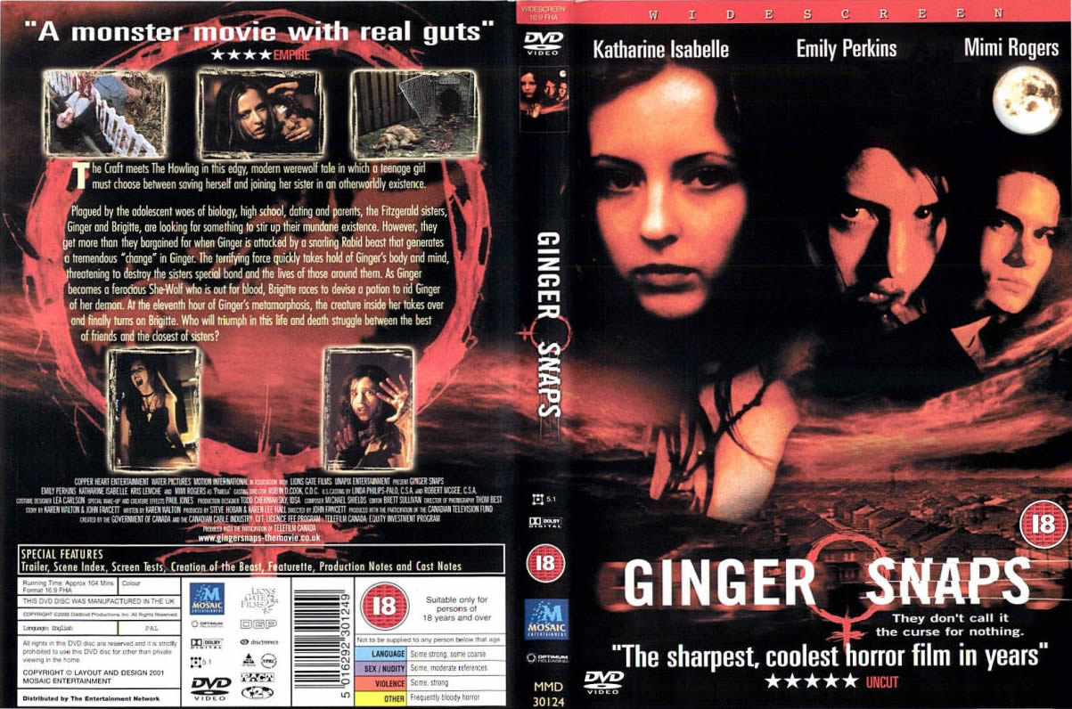 GINGER SNAPS  the movie