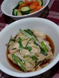 Steamed chicken in foil 20131226