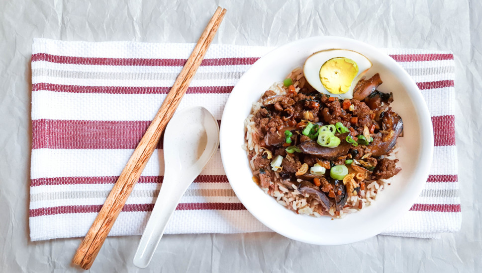 Taiwan Ground Pork Rice image