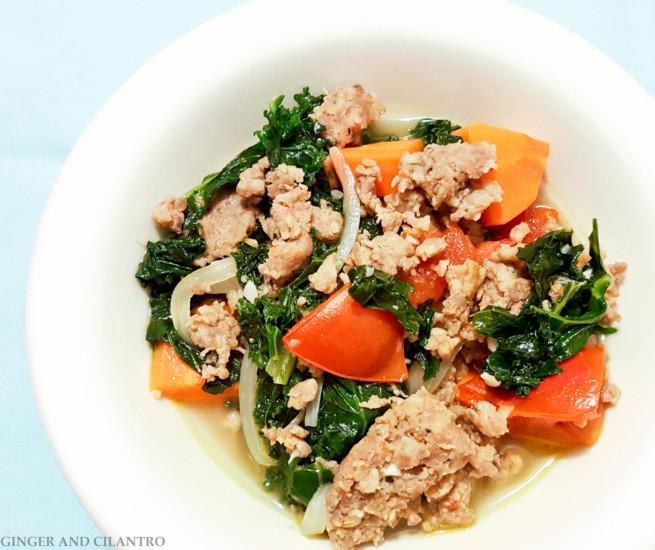 Italian Sausage Kale stew