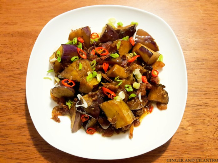 Eggplant and Dried Shrimp 20170227 (5)