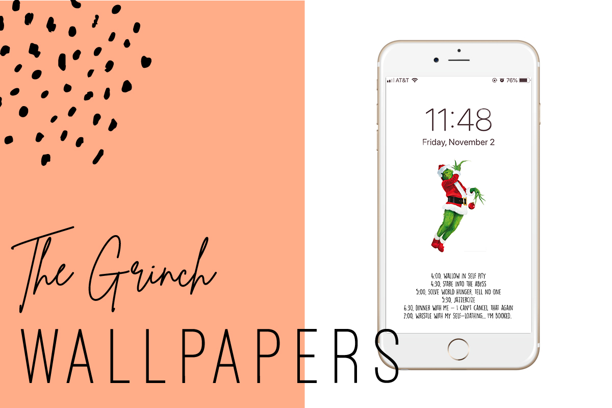 Free Grinch Iphone Wallpapers Ginger And Ivory