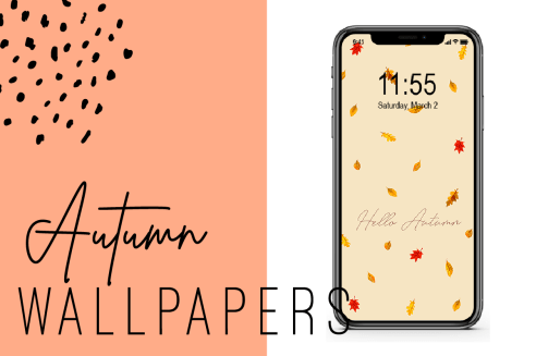 Free Fall Iphone Wallpapers Ginger And Ivory