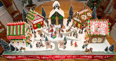 2013 Gingerbread Village