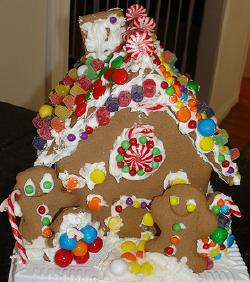 Fabulous Gingerbread House Decorating Ideas