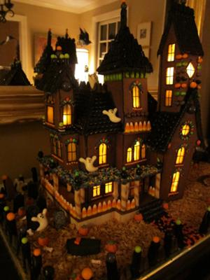 Haunted Gingerbread Mansion 2011
