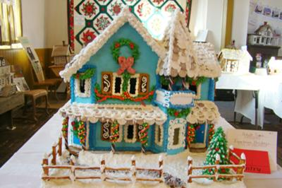 Winner In Adult Category Mount Horeb WI Gingerbread House Contest