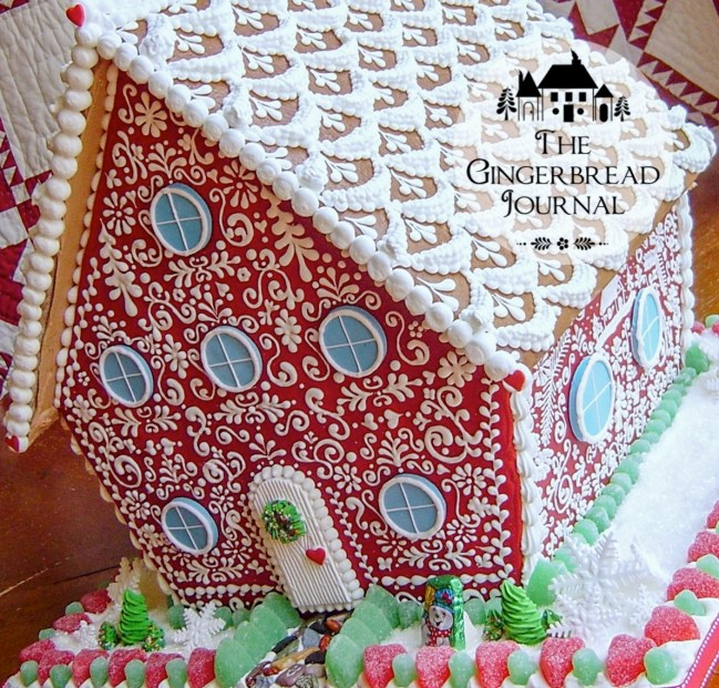gingerbread house Christmas C-13wm
