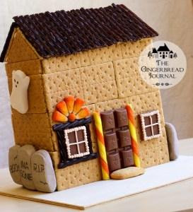 Halloween Gingerbread House Tutorial
