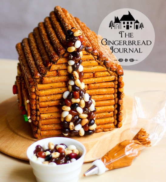 gingerbread house log cabinwm