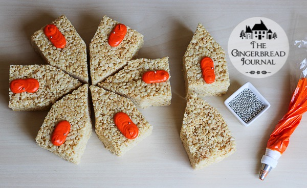 mini rice crispie treat Halloween Houses-4wm