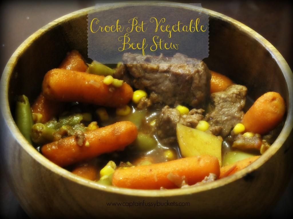 Crock Pot Vegetable Beef Stew Recipe
