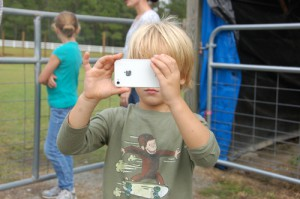 Farm Photographer William, age 5